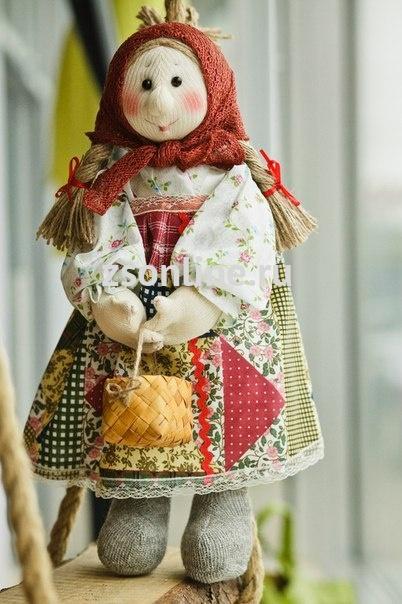 Как сделать куклу авторскую своими руками